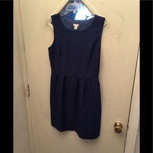 Fully lined sleeveless dress